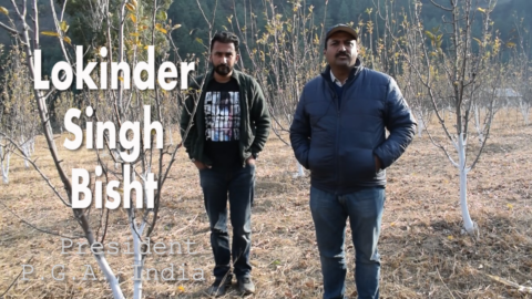 Mr. LOKINDER SINGH BISHT |  Talking about bio-controls,Pruning and lot more