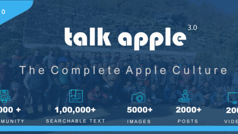 Talk Apple 3.0 launched