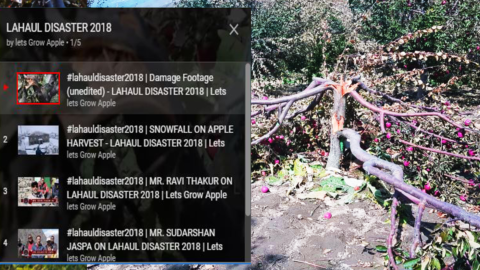 PLAYLIST | LAHAUL DISASTER 2018