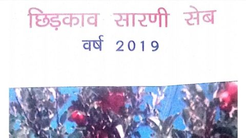 HIMACHAL PRADESH – APPLE SPRAY SCHEDULE 2019