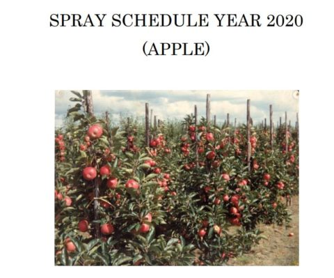 SPRAY SCHEDULE YEAR 2020 (APPLE)(ENGLISH)