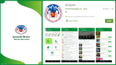 eUdyan APP and Website Launched – State Department of Horticulture, Himachal
